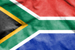 Flag of South Africa. Royalty Free Stock Photos