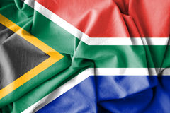 Flag of South Africa. Royalty Free Stock Image