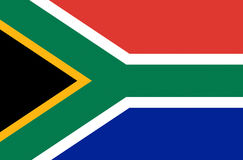 Flag of South Africa. Illustration of the national flag of South Africa Royalty Free Stock Photos