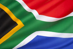 Flag of South Africa. The flag of the Republic of South Africa was adopted on 27 April 1994, at the beginning of the 1994 general election, to replace the flag Stock Photos