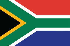 Flag of South Africa Stock Photos