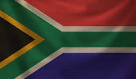 Flag of South Africa. Stock Photos