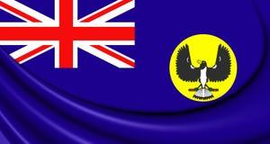 Flag of South Australia Stock Image