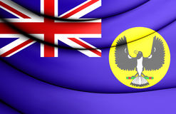 Flag of South Australia. Royalty Free Stock Photos
