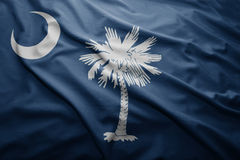 Flag of South Carolina state Royalty Free Stock Photography