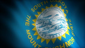 Flag of South Dakota Stock Photography