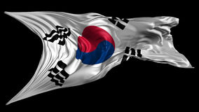 Flag of South Korea Royalty Free Stock Photography