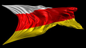 Flag of South Ossetia Royalty Free Stock Images