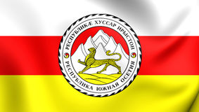 Flag of South Ossetia Royalty Free Stock Photography