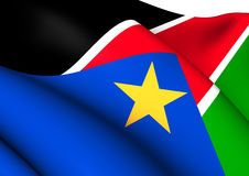 Flag of South Sudan Royalty Free Stock Image