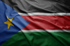 Flag of South Sudan Stock Images