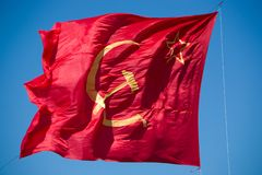 Flag of soviet union Royalty Free Stock Photography
