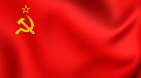 Flag of the Soviet Union Stock Photo