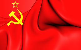 Flag of Soviet Union Royalty Free Stock Photo