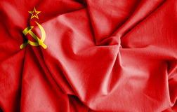Flag of Soviet Union. Stock Images