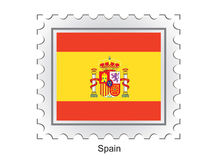Flag of Spain Royalty Free Stock Photos
