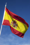 Flag of Spain. The national flag of Spain Royalty Free Stock Images
