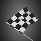 Flag for sporting events. Slow motion flags for sporting events Royalty Free Stock Photo