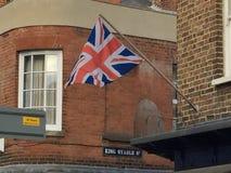 flag stålarunion Royaltyfri Fotografi