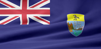 Flag of St. Helena. Very large version of a St. Helena Flag Stock Photography