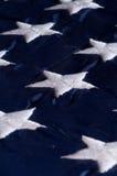 Flag stars. Stars on the American flag Royalty Free Stock Photo