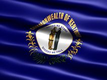 Flag of the state of Kentucky Stock Photo