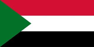Flag of Sudan Royalty Free Stock Photos