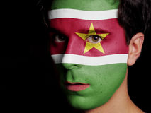Flag of Suriname Stock Photos