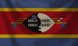 Flag of Swaziland. Stock Images