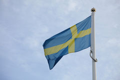 Flag of Sweden Stock Image