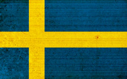 Flag of Sweden Royalty Free Stock Images