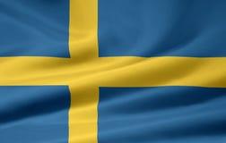 Flag of Sweden stock images