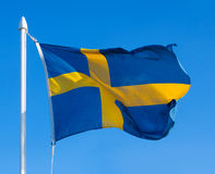 Flag of Sweden Stock Images