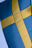 Flag of Sweden. The flag of Sweden waving Royalty Free Stock Photos