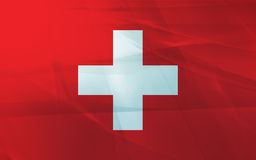 Flag of swiss Royalty Free Stock Photo