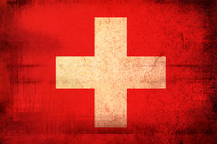 Flag of Swiss Stock Images