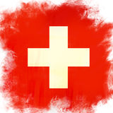 Flag of Swiss Stock Image