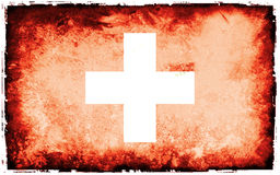 Flag of Swiss Stock Photography