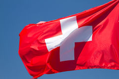 Flag of Switzerland Royalty Free Stock Photos