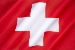 Flag of Switzerland Royalty Free Stock Photography