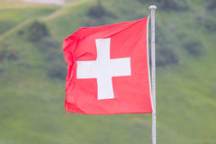 Flag of Switzerland Stock Photography