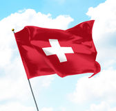 Flag of Switzerland Stock Images