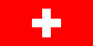 The Flag of Switzerland Royalty Free Stock Images