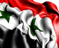 Flag of Syria Stock Photography