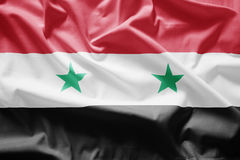 Flag of syria Stock Photos