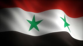 Flag of Syria Royalty Free Stock Images