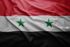 Flag of Syria Royalty Free Stock Photos