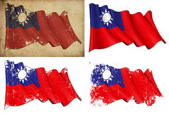 Flag of Taiwan Stock Images
