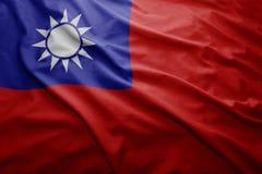 Flag of Taiwan Royalty Free Stock Photo