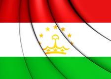flag tajikistan Стоковые Изображения